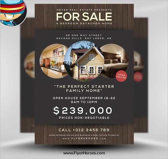 Open house flyer template 30 free psd format download free college - house flyer template
