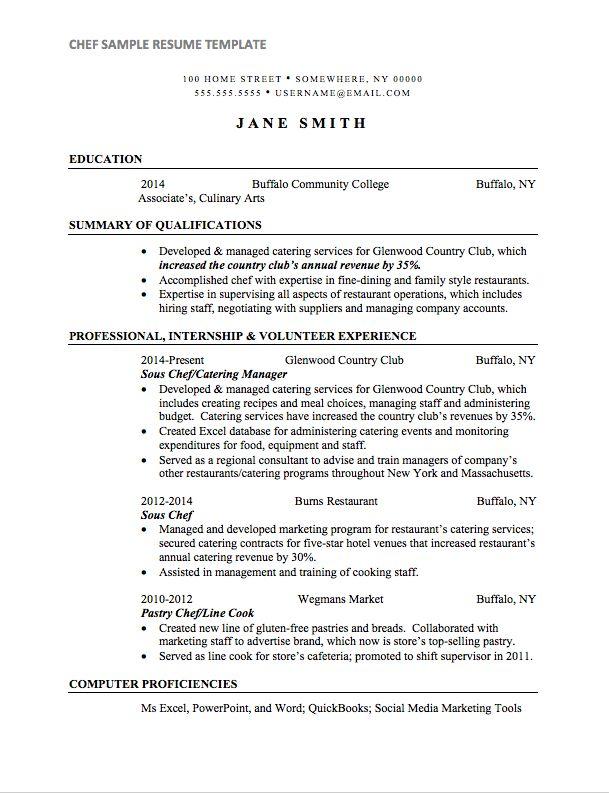 Thai Chef Sample Resume Sous Chef Cv 13 Files, Sample Resume For A
