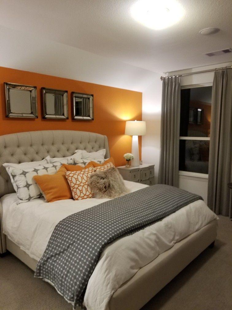 grey and orange bedroom ideas – kampanyadeposu.com