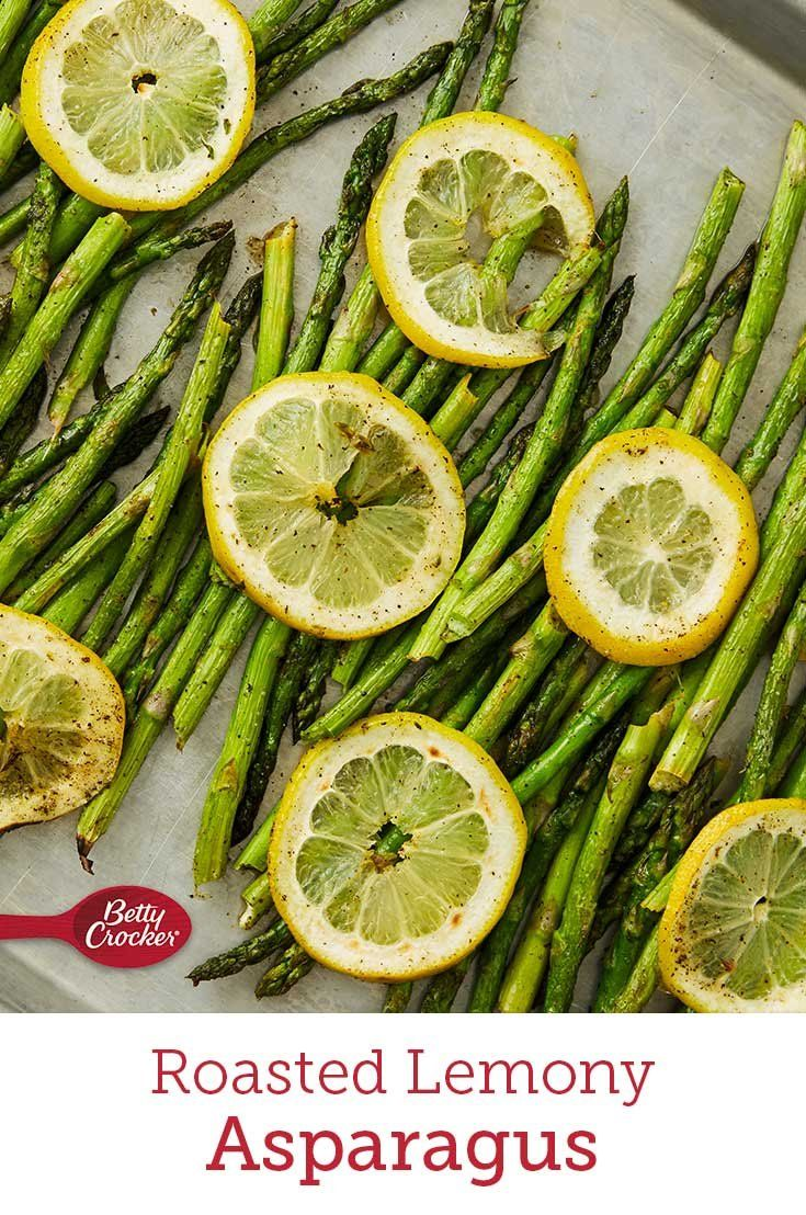When you want a simple side that still has tons of flavor, a pan of lemony, peppery asparagus will bring any dinner to life.