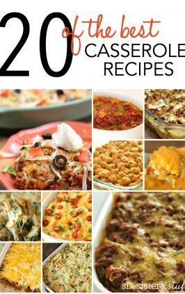 20 of the BEST Casserole Recipes
