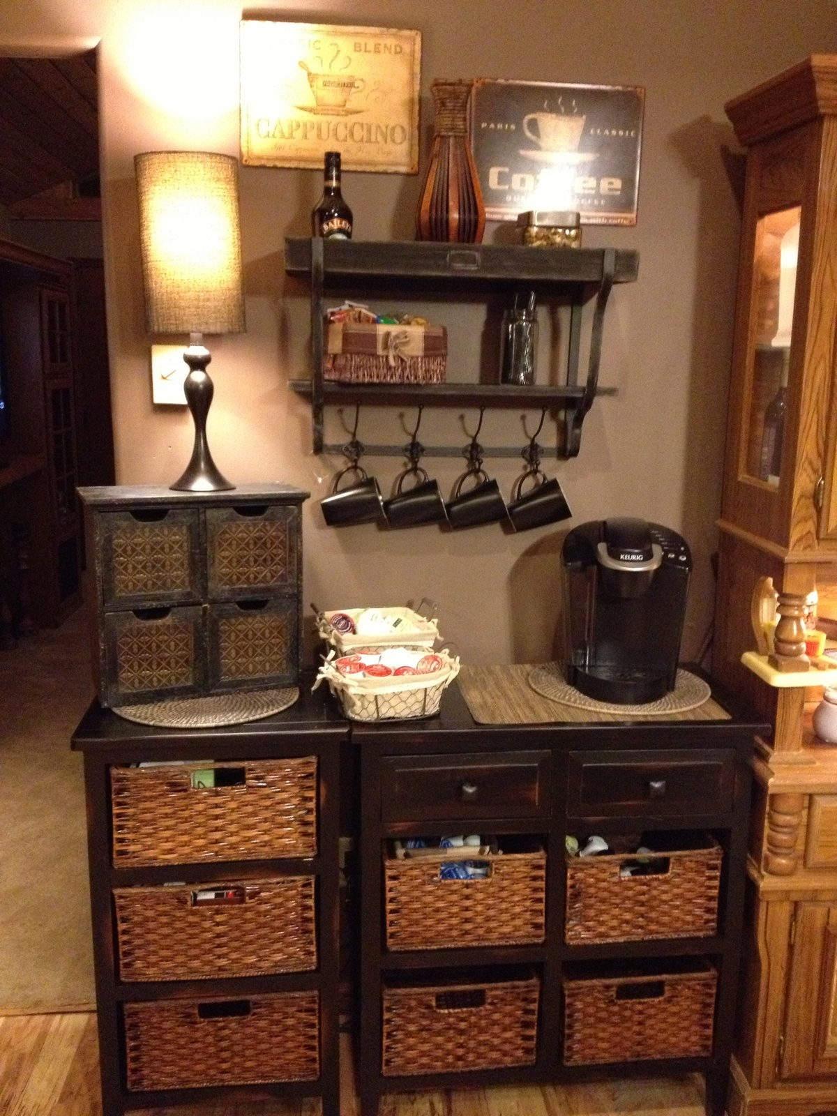 1000 images about coffee bars and brews on pinterest coffee stations home coffee bars and coffee. Black Bedroom Furniture Sets. Home Design Ideas