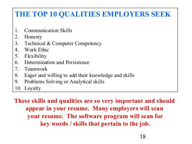 Examples Of Teamwork Skills For A Resume - Examples of Resumes