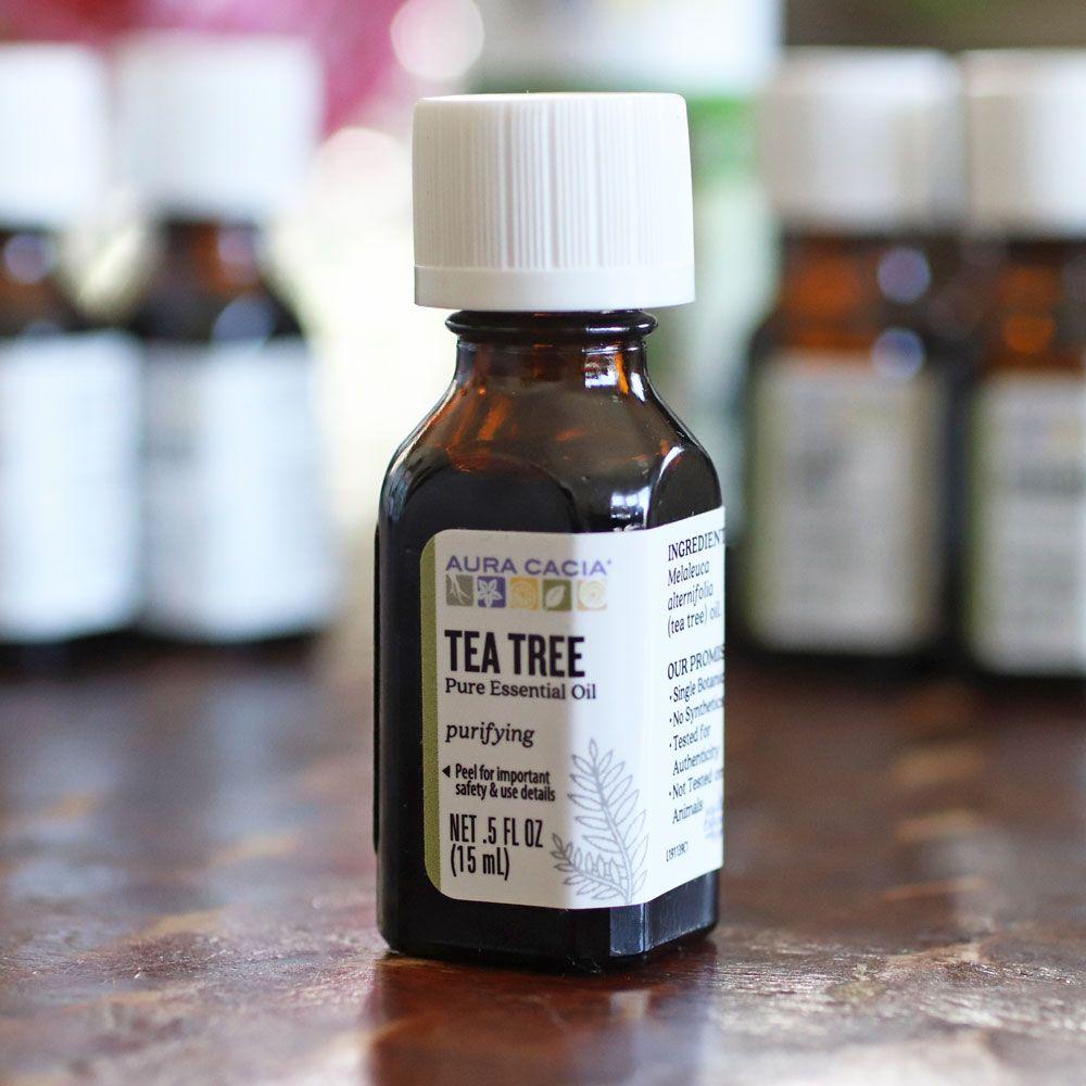 AD Tea tree oil DIY recipes for acne!
