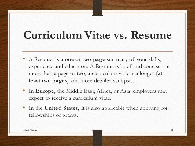 Lovely Curriculum Vitae Vs Resume Sample Spectacular Design Cover Letter Ideas Vitae Vs Resume