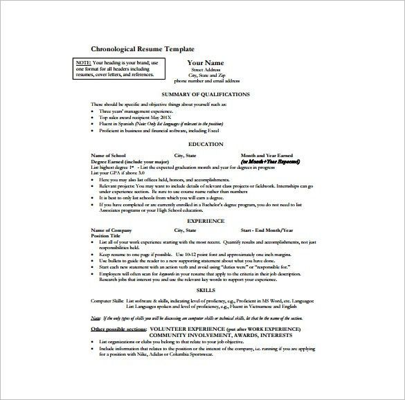 Sample One Page Resume Format Examples Of One Page Resumes How To - how to make a one page resume