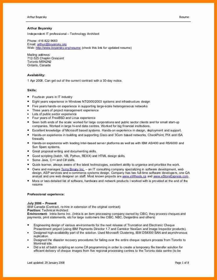 Updated Resume Formats. Proper Resume Format 5 Updated   Uxhandy .