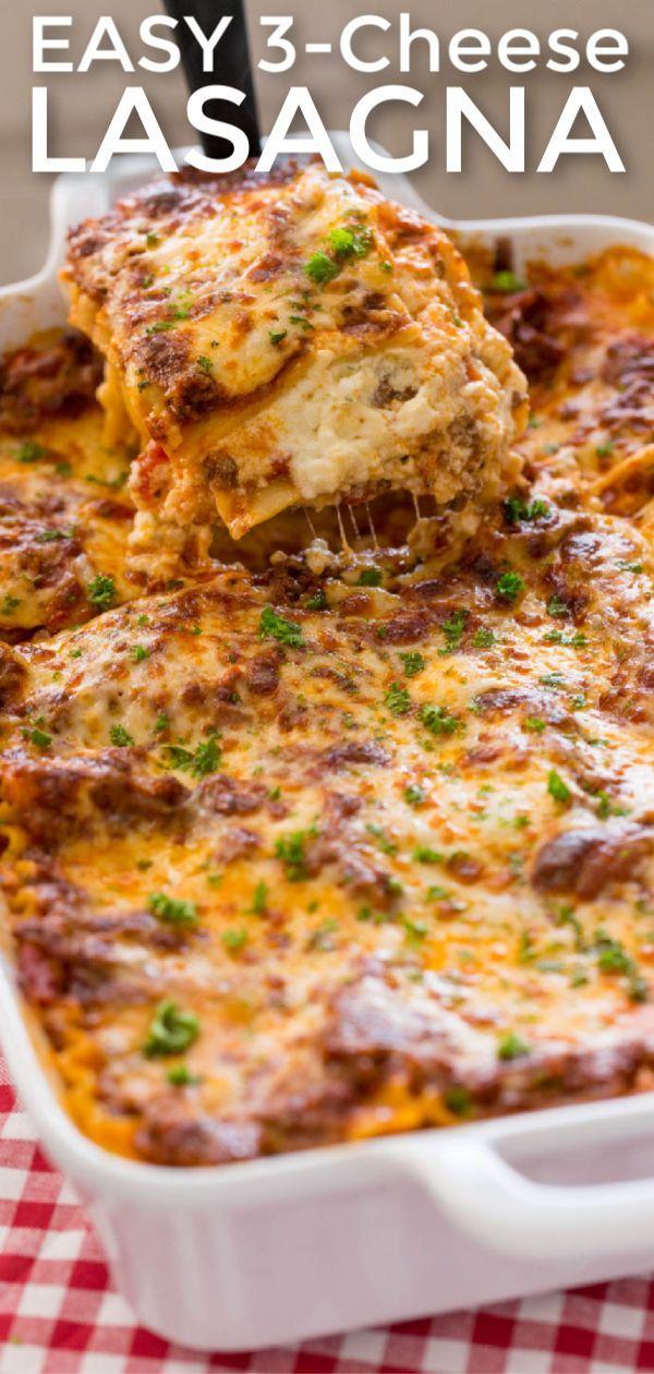 Lasagna Recipe (VIDEO) - NatashasKitchen.com