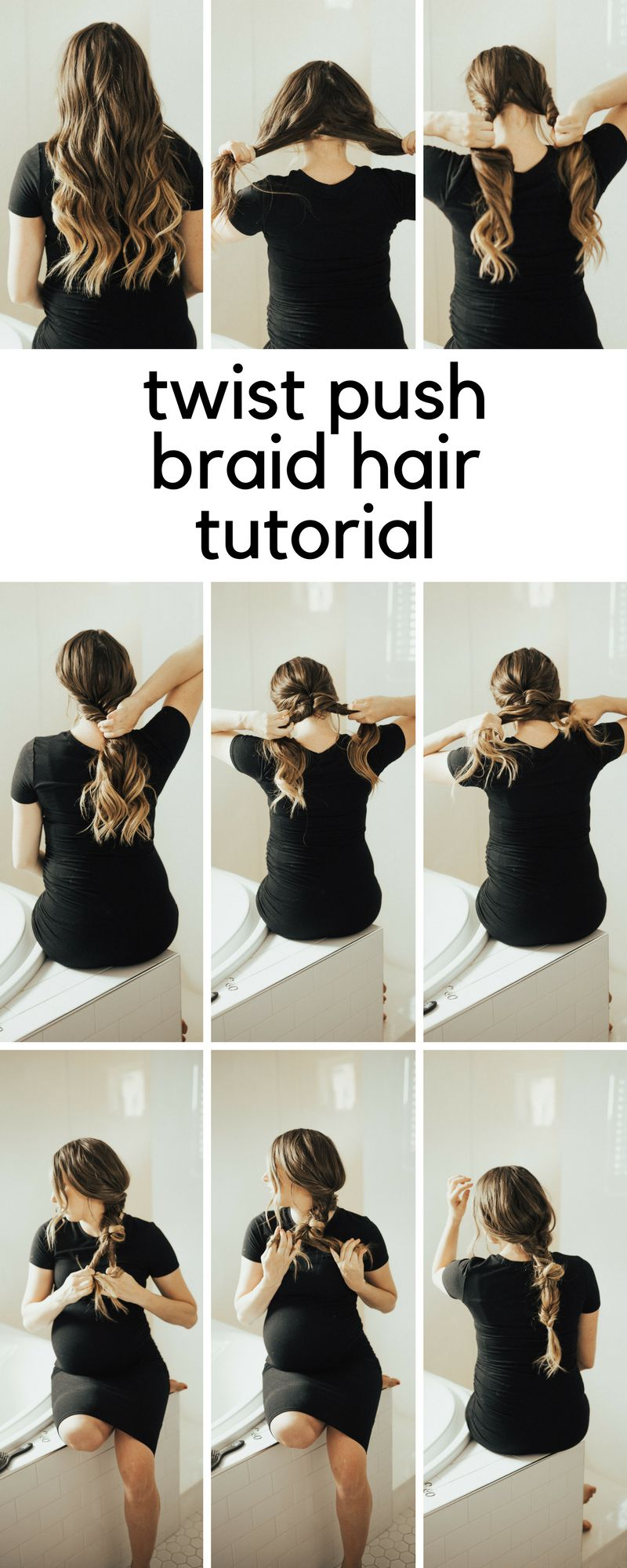 SAVE this right now! Utah Style Blogger Dani Marie is sharing her top simple braid ideas for long hair. #hairtutorial #easyhairstyle #ponytail #hairstyle #danimarie