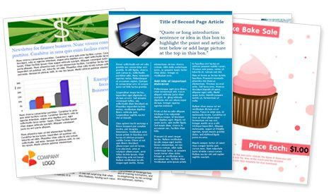 Ms Word Newsletter Templates 22 Microsoft Newsletter Templates - newsletter templates word free