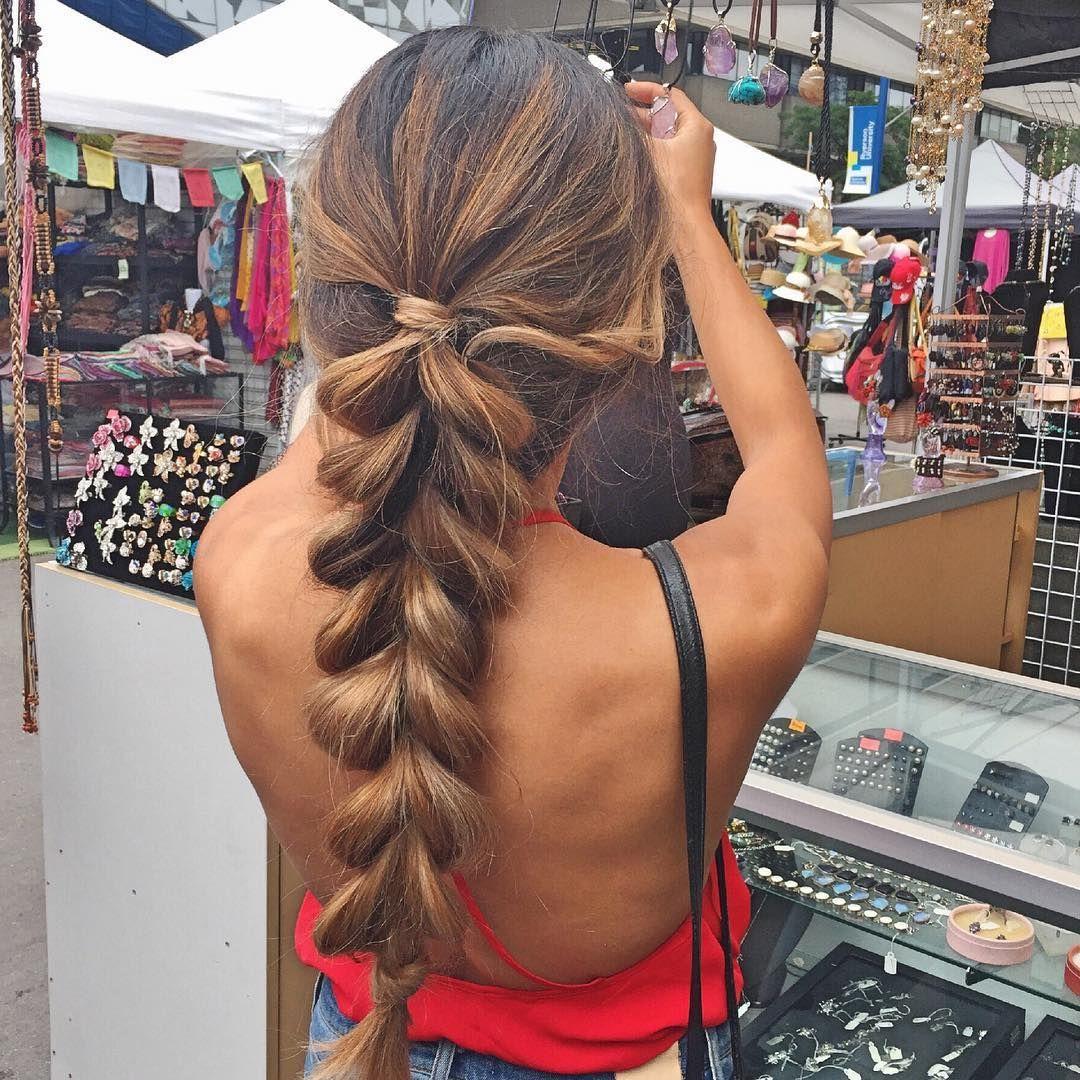 30 Delightful Pull Through Braid Hairstyles — Trendy Braiding