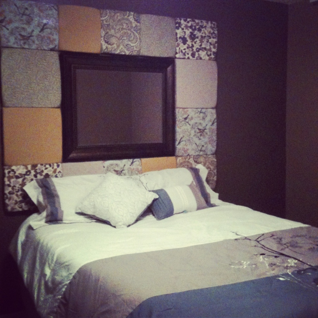 homemade headboards king size beds and headboards on pinterest. Black Bedroom Furniture Sets. Home Design Ideas