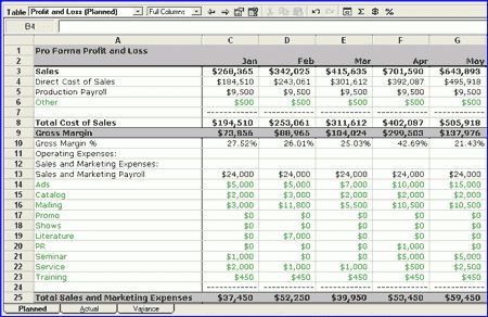 Business Profit And Loss Profit And Loss Statement Free Templates - business profit and loss