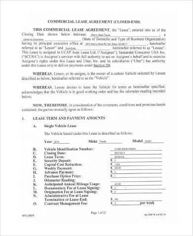 Auto Purchase Agreement Agreement For Auto Purchasing Favcarsnet - sample vehicle lease agreement
