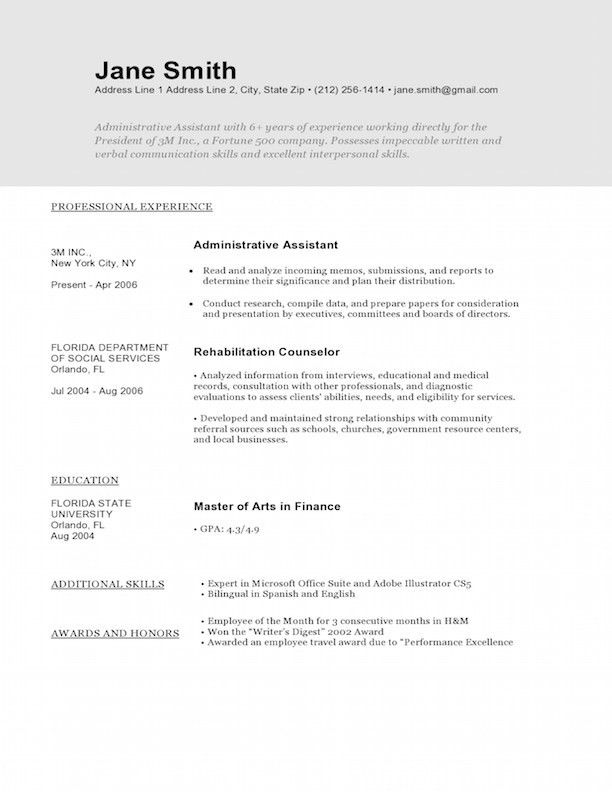 sample resume text resume text format standard format resume standard resume format