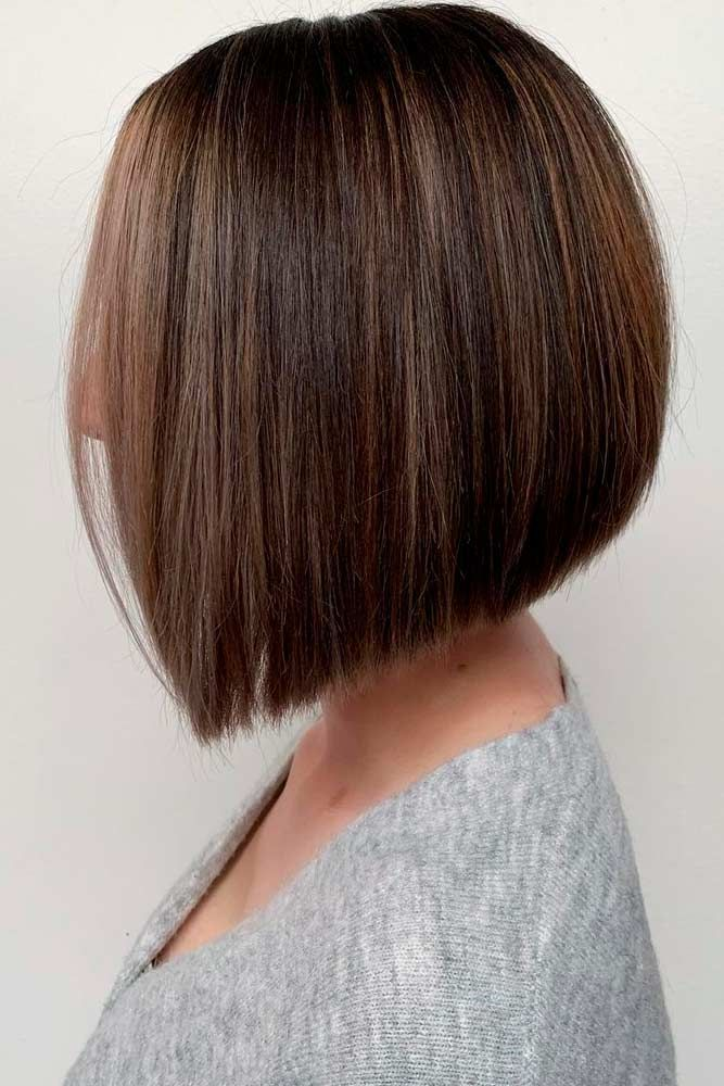 Classic Straight Bob #straighthair #sleekhair ★ Bob haircuts will never lose their popularity. Whether short or long, angled or stacked, straight or wavy, a bob looks awesome. #glaminati #lifestyle #bobhaircuts
