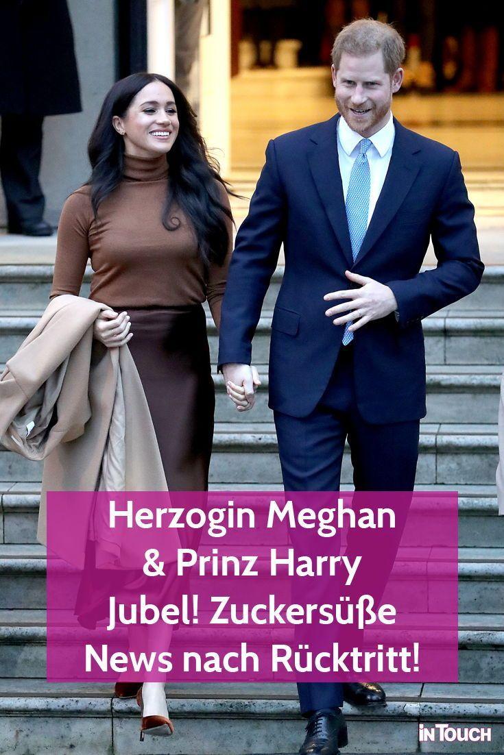 Herzogin Meghan & Prinz Harry: Jubel! Zuckersüße News nach Rücktritt! | InTouch