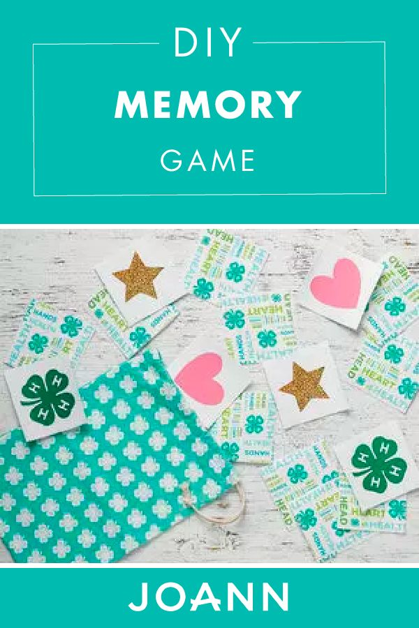 Trying to find a new game to entertain the kids? Look no further than this DIY Memory Game from JOANN! This cute project is easy to make and fun to play as a family.