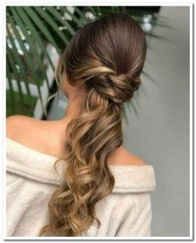 26 irresistible high pony long prom hairstyles 2019 to look perfect 00067