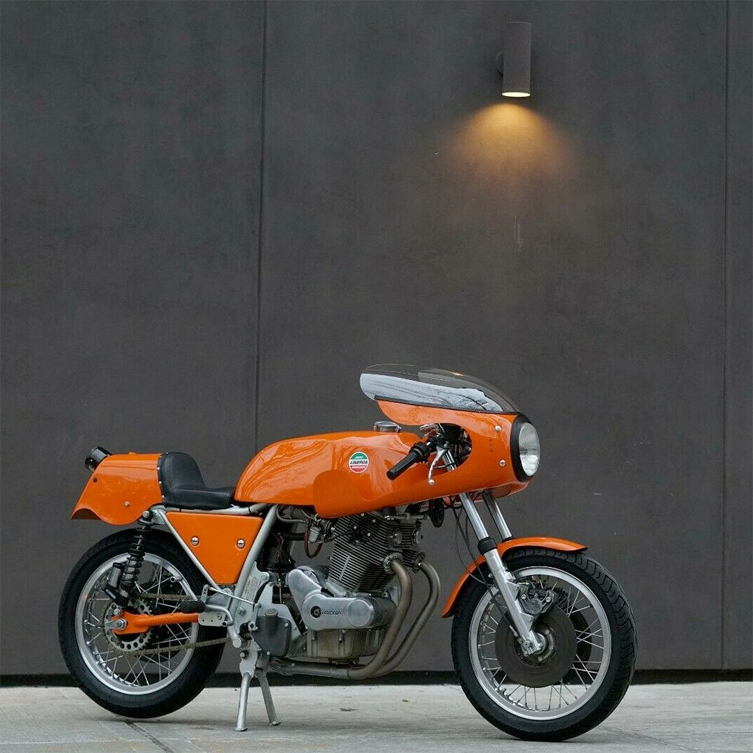 Who's got a crush on orange Laverdas? This 1974 SFC is on sale for a cool $58,000.
