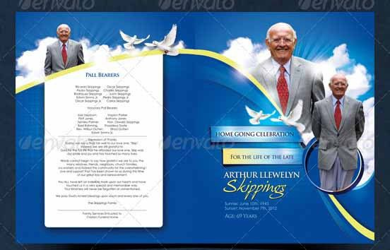 Free Funeral Programs Free Funeral Program Template Microsoft - funeral program template microsoft
