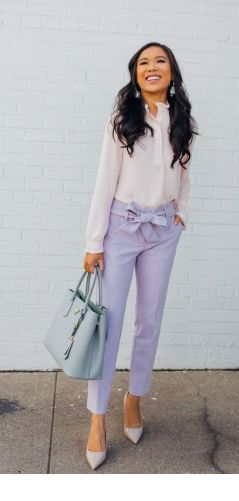 I like this look with pastels