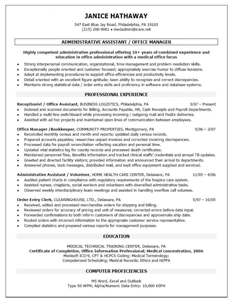 Back Office Medical Assistant Duties Medical Assistant Back - administrative assistant office resume