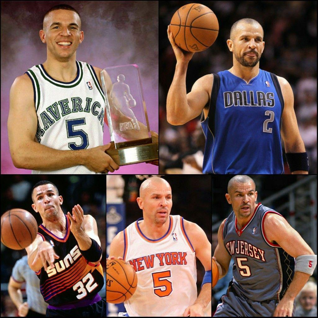 Jason Kidd's NBA playing career 19942013 Basketball