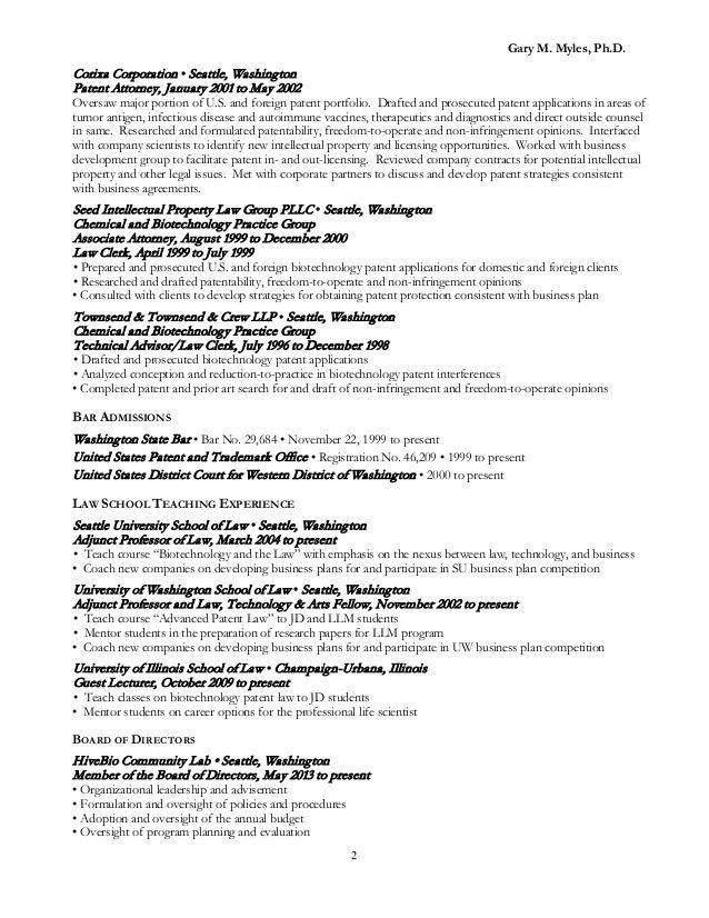 Sample Of Attorney Resume Lawyer Litigation Mediation