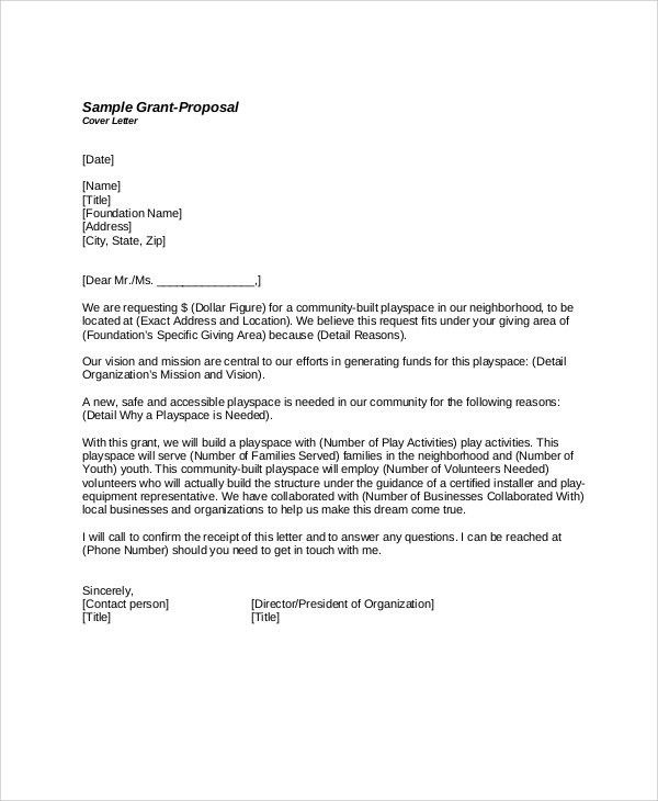Cover Letter Sample For Proposal Rfp Response Cover Letter - proposal cover page template