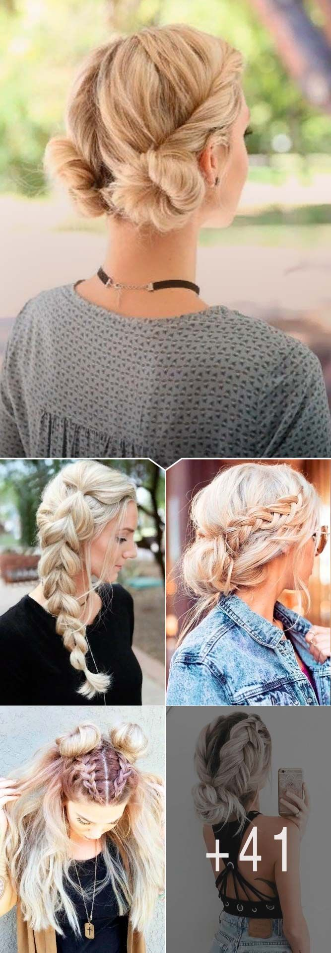 Easy Hairstyles For Spring Break ★ Spring break is approaching, and easy hairstyles that look pretty will come in handy whether you have an active or a passive vacation. See our collection. #glaminati #lifestyle #easyhairstyles