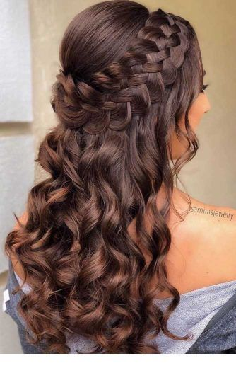 Large braids and curls