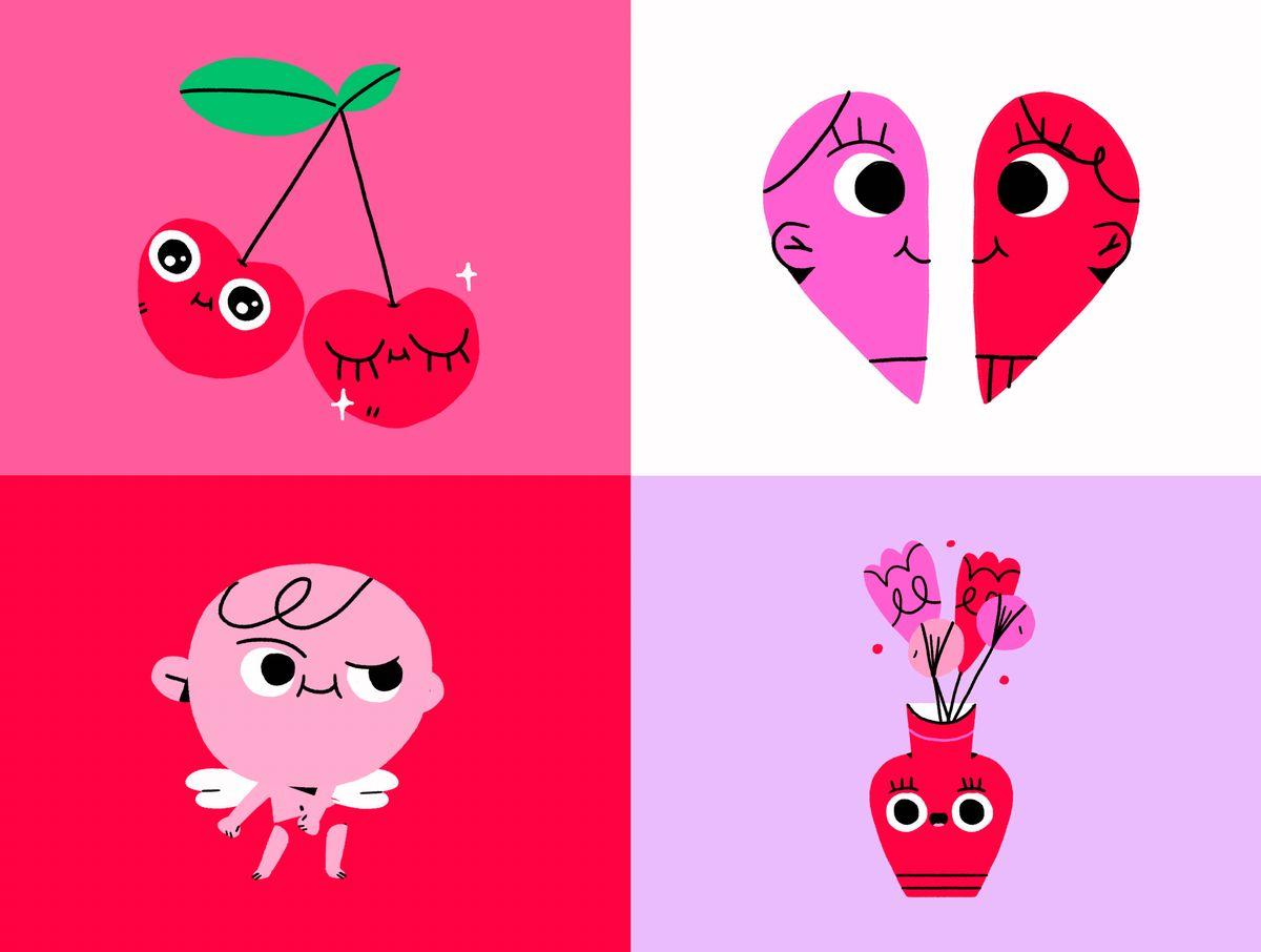 Valentine's Day GIF by Carolina Martínez