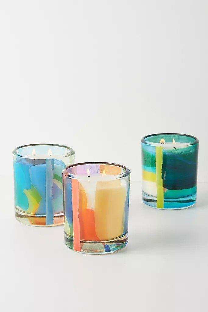 Claire Desjardins Glass Candle