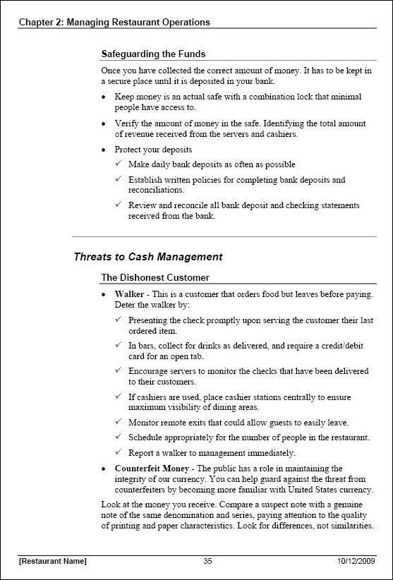 Training Manual Format Sample Training Manual 10 Documents In Pdf - safety manual template