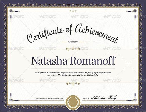 Certificate Template Blank 30 Blank Certificate Templates Free - certificate design format