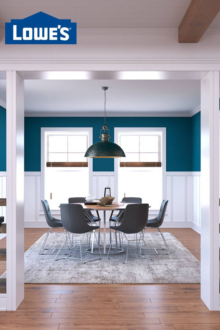 Moulding adds extra dimension and sophistication to floors, ceilings, doors and windows. Complete your moulding and millwork project with Lowe's. #moulding #lowes