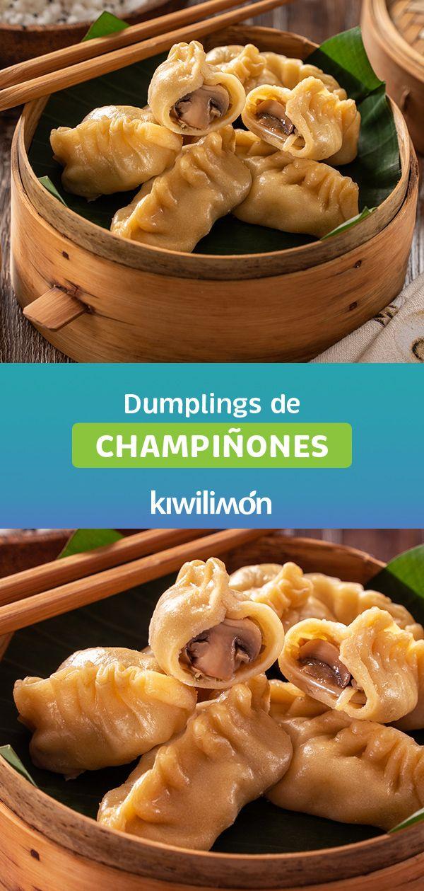 Dumplings de Champiñones