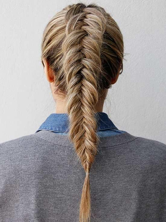 """This Dutch fishtail braid gets major style points. The inverted look is no more difficult than a regular fishtail braid, but a little extra effort adds major volume and style. Get Step-by-Step Instructions<p><a href=""""http://www.homeinteriordesign.org/2018/02/short-guide-to-interior-decoration.html"""">Short guide to interior decoration</a></p>"""