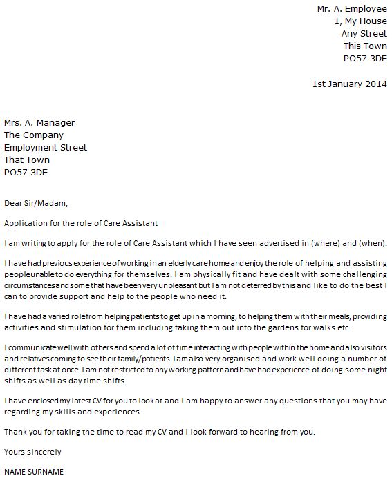 aged care cover letter haadyaooverbayresort com - Aged Care Cover Letter