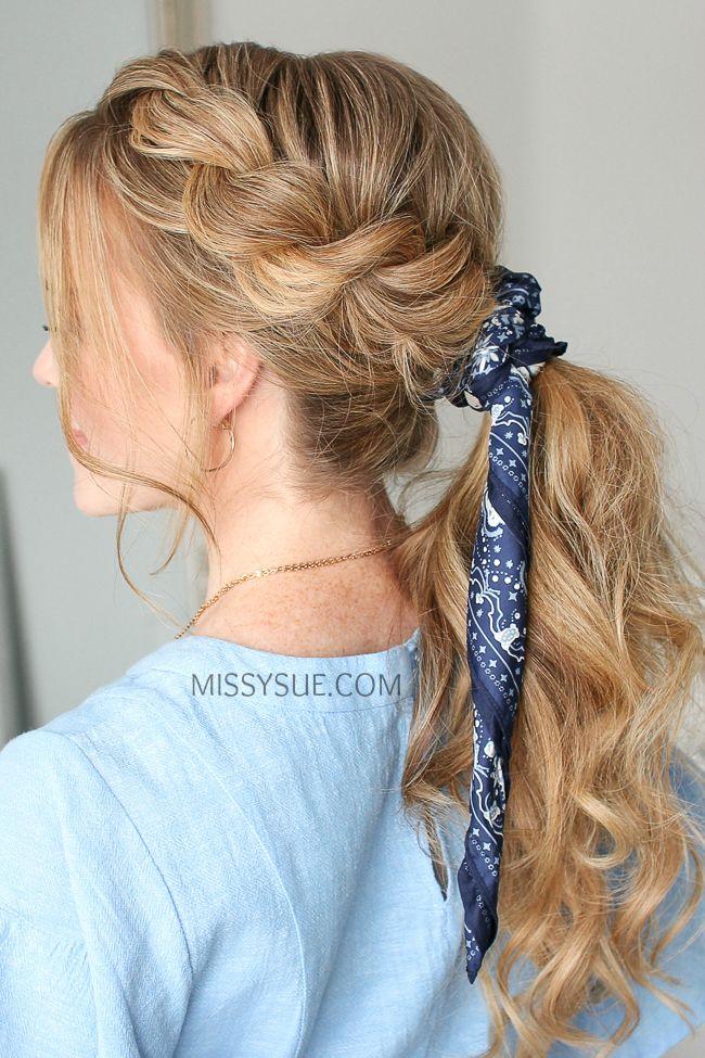 Twist Braid Ponytail | MISSY SUE