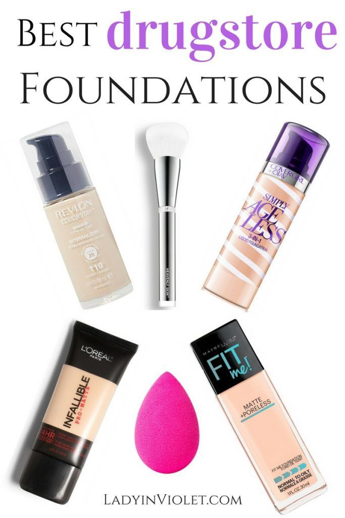 Lady in Violet, a Houston based blogger shares her best drugstore foundation with a in depth review.