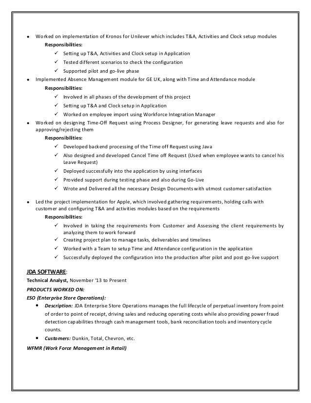 kronos implementation resume node2003-cvresumepaasprovider