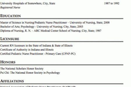 nurse practitioner sample resume node2001-cvresumepaasprovider - primary care nurse practitioner sample resume