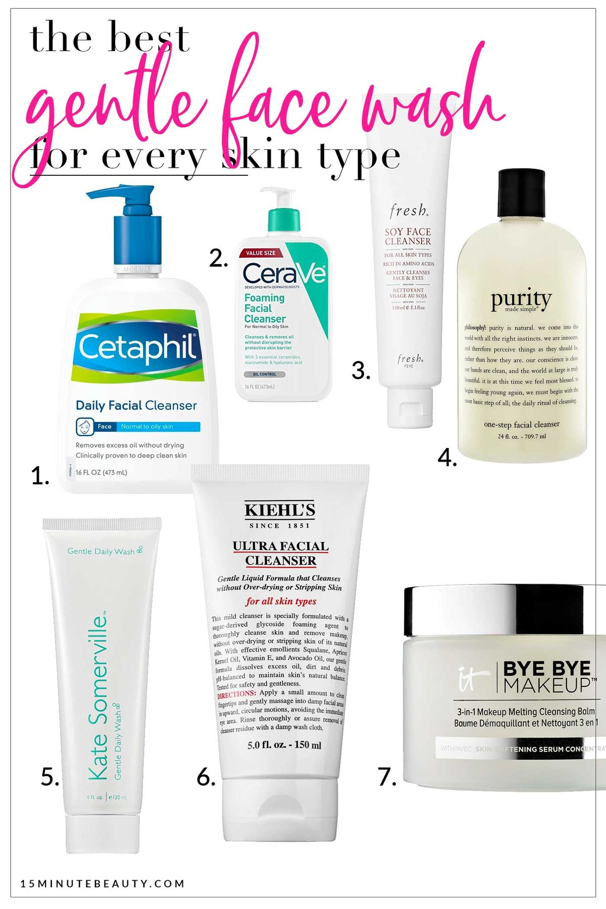 The favorite gentle face washes of dermatologists
