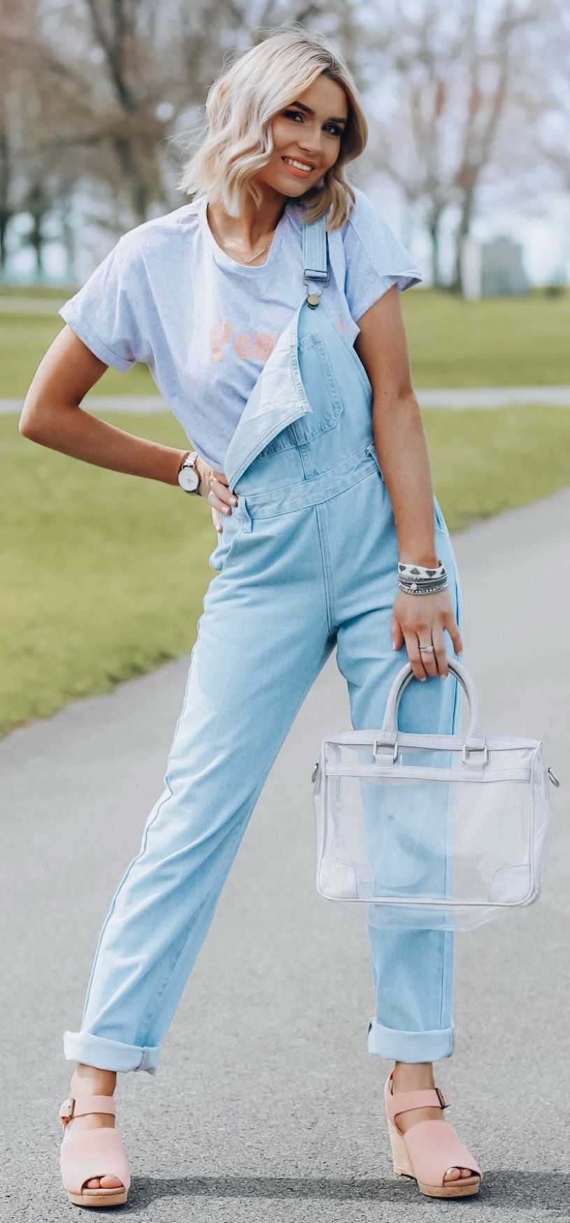 blue jeans #summer #outfits
