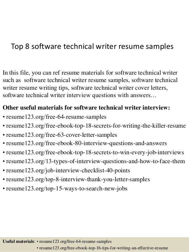 Junior Technical Writer Resume Cover Letter For Scholarship