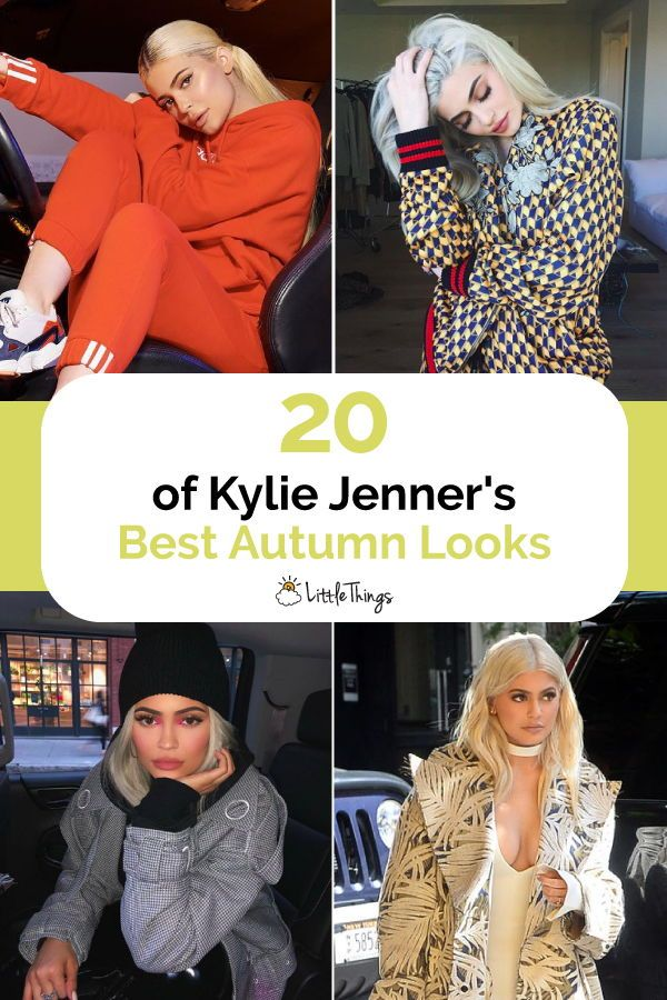 """20 of Kylie Jenner's Best Autumn Looks: Kylie Jenner has an eye for makeup -- and seasonal fashion, always. #celebrities #celebritystyle #dress #dressesbystyle #style #kyliejenner"""""""