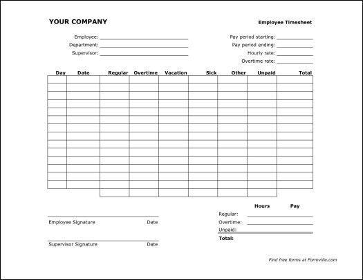 Free Timesheet Form 39 Timesheet Templates Free Sample Example - sample weekly timesheet