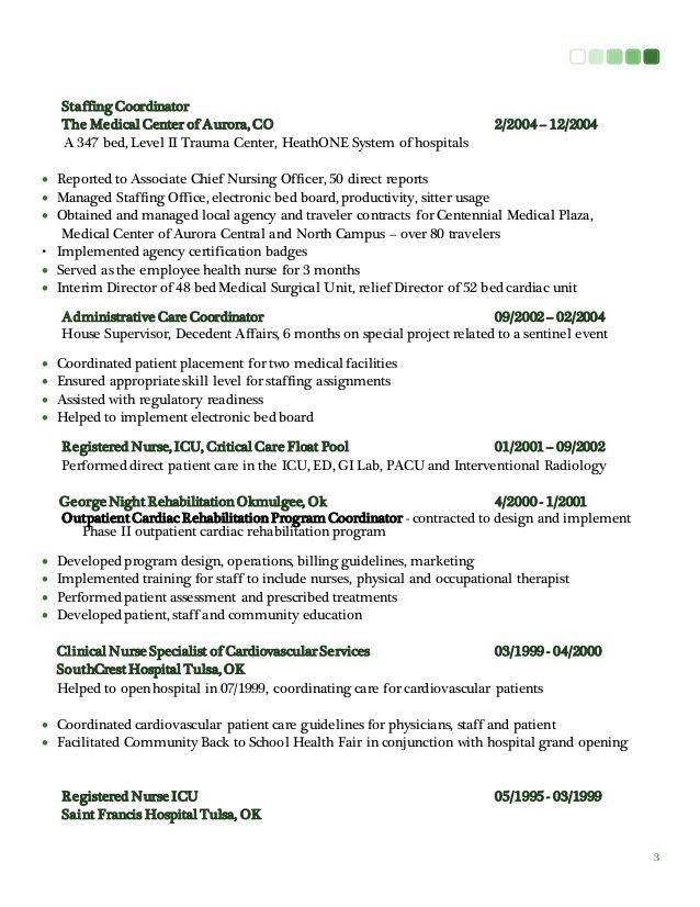 staffing coordinator resume - Daway.dabrowa.co